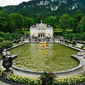 Bodamské jezero a zámek Neuschwanstein