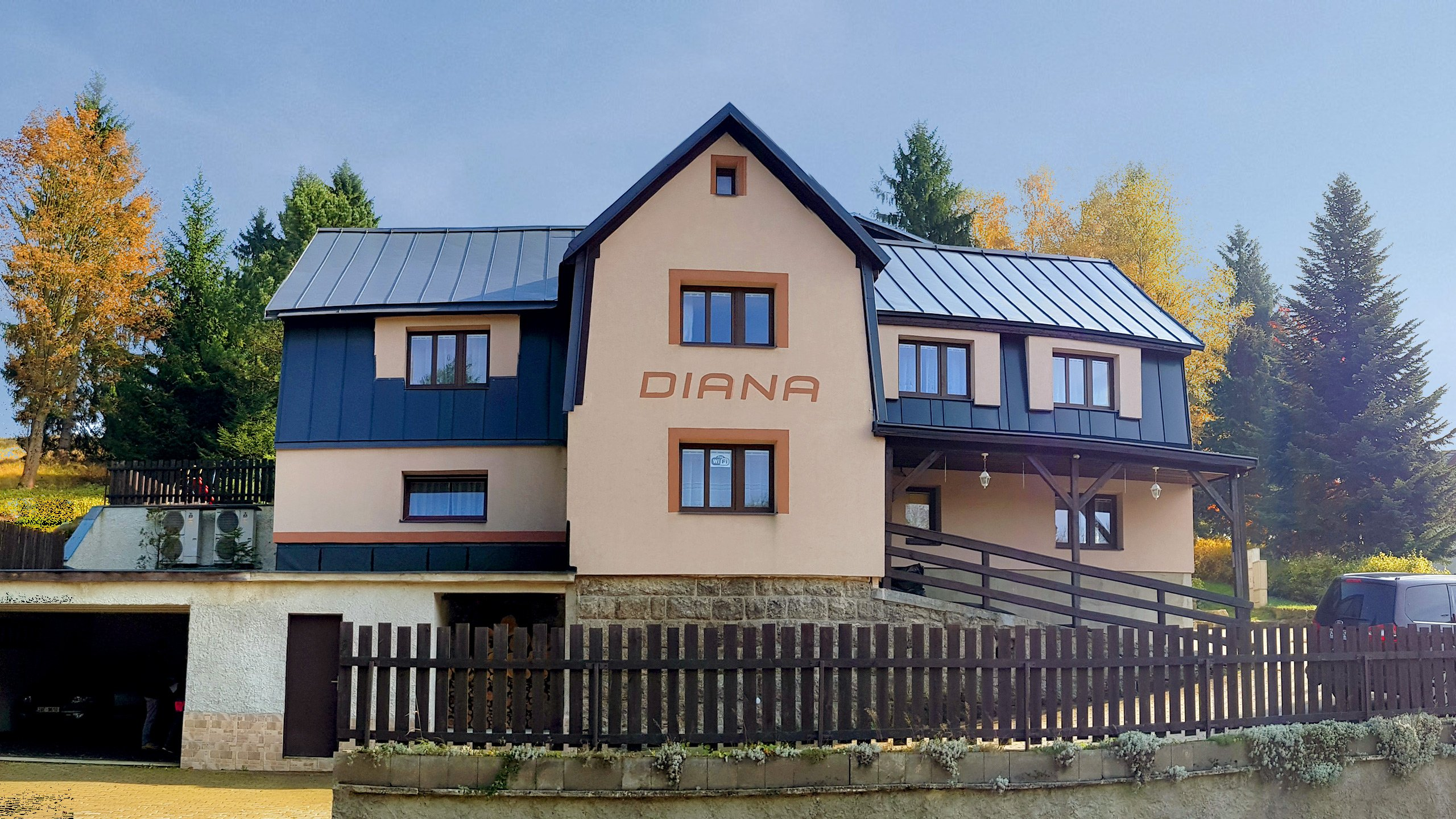 Penzion Diana Bedřichov