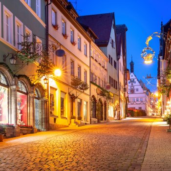 Adventní Rothenburg a Muzeum Vánoc