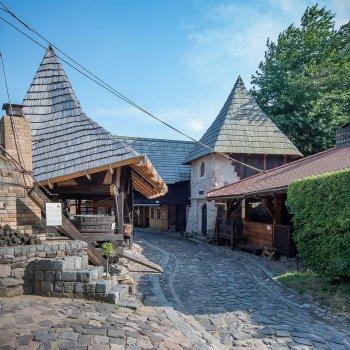 Středověká vesnice Botanicus