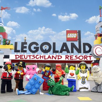 Legoland a delfíní laguna