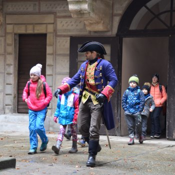 Mikuláš na hradě