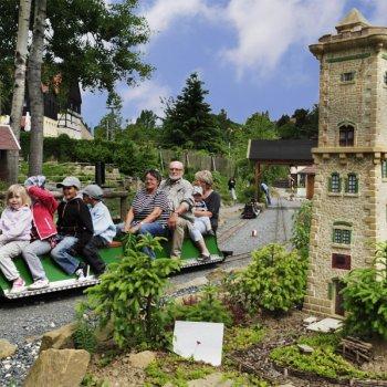 Hrad Königstein a park miniatur
