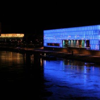 Linz a muzeum budoucnosti AEC